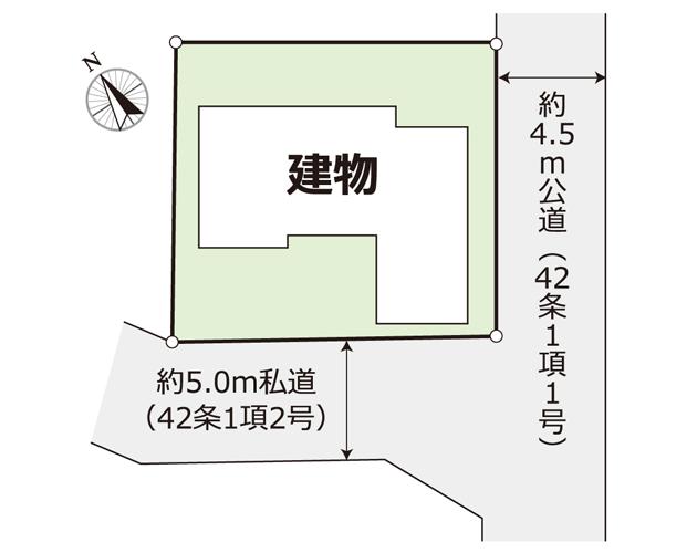 鎌ヶ谷市初富ー中古住宅物件